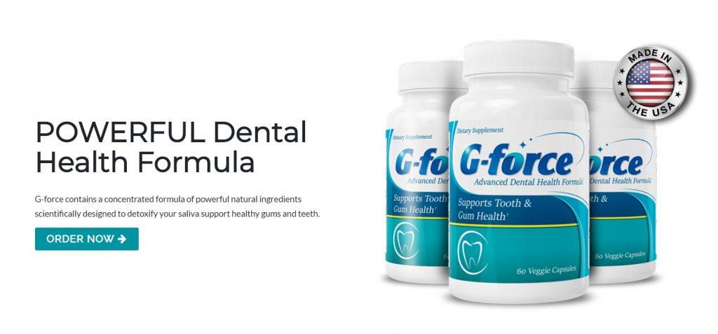 G-Force Natural Dental Health Formula